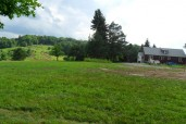 From the backyard towards lodge & motocross track in backgroung