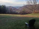 The Captains Chair View off Front Sun Porch to Valley